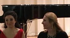 Stephanie Lesch und Ainoa Padrón, Klavier im Gespräch mit der Liedwelt