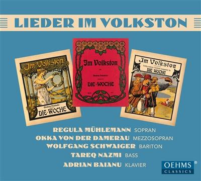 """Im Volkston – 90 Lieder in """"Die Woche"""""""